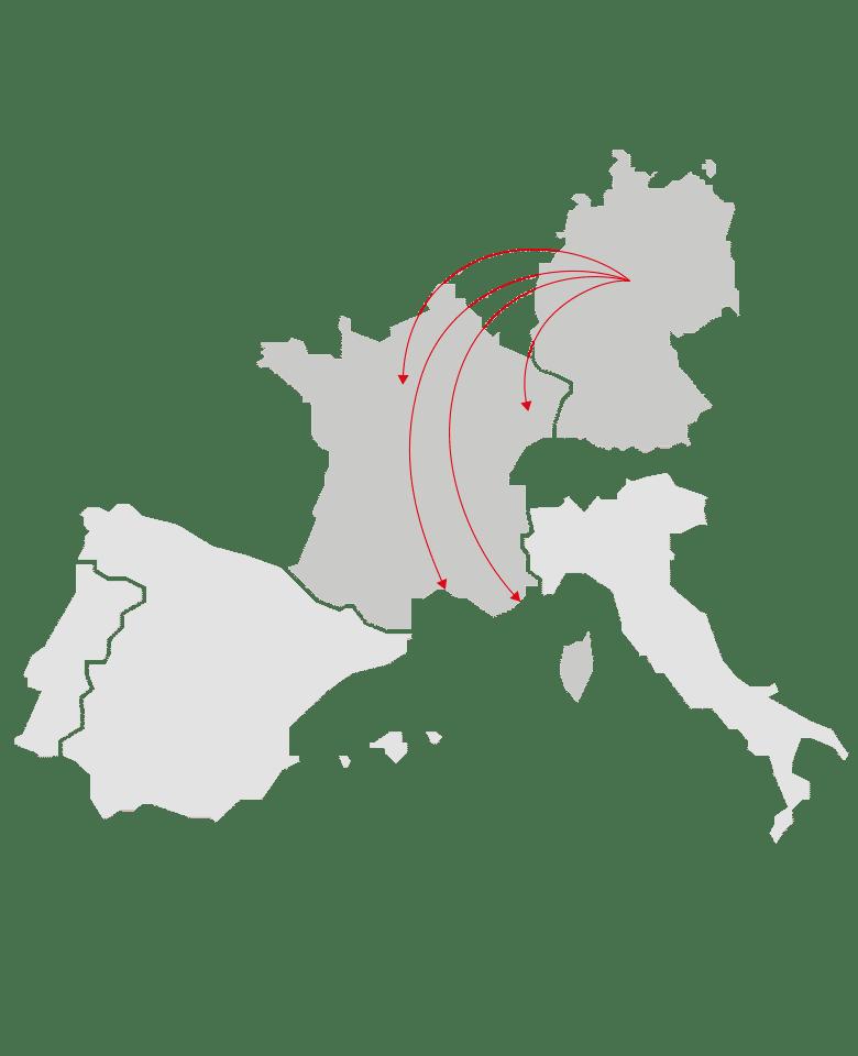 Auslandsfinanzierung Frankreich