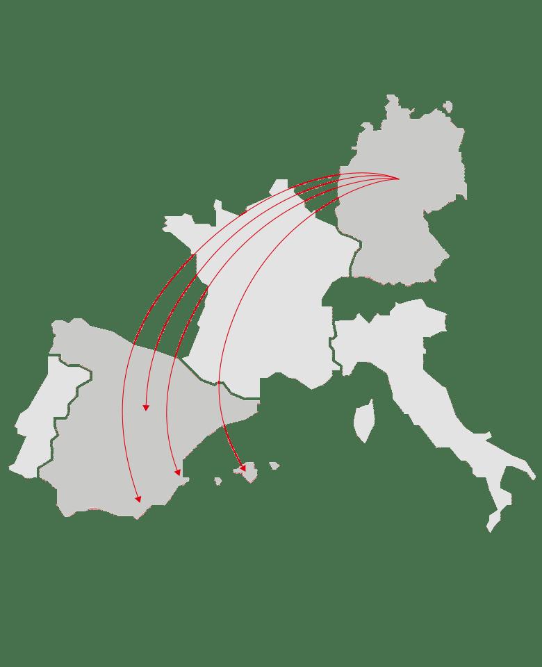Auslandsfinanzierung Spanien